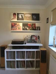 Meuble Pour Vinyle : meubles de rangement vinyles bidouilles ikea ~ Teatrodelosmanantiales.com Idées de Décoration