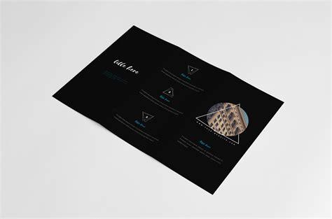 black portfolio brochure kahuna design source