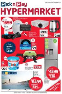 pick  pay hypermarket deals  aug   sep