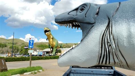43 Foot Long Bruce The Mosasaur Makes Journey To Manitoba