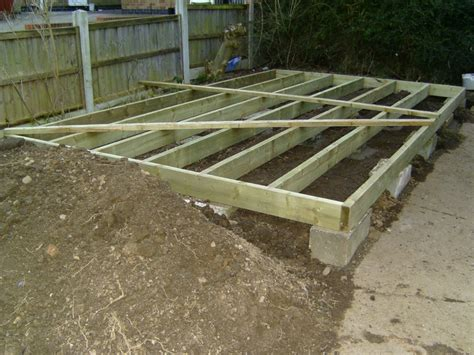 How To Lay Decking On Soil workshop1