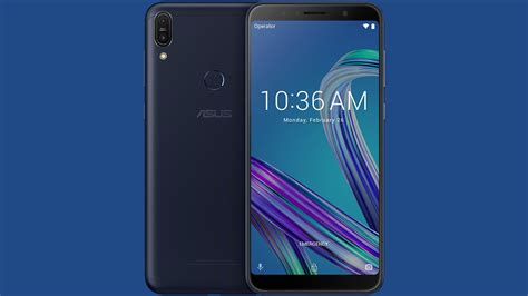 official render this is the asus zenfone max pro m1