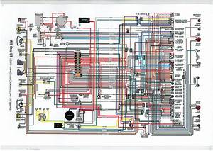 Opel Gt 1973 Diagram Electrical