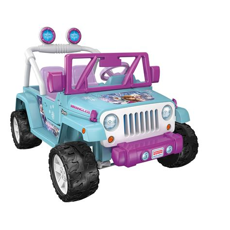 toy jeep car power wheels 12v battery toy ride on jeep wrangler