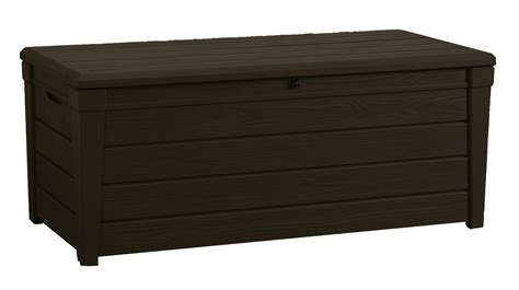 keter woodland storage box keter 17198359 brightwood storage box ebay