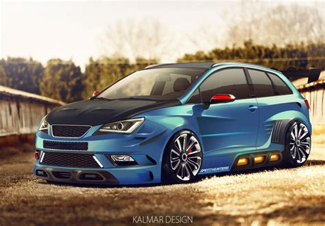 Seat Ibiza Tuning by Vitrual Tuning Seat Ibiza By Kalmardesign On Deviantart