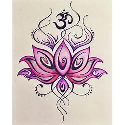 Lotus flower and om sign gardening flower and vegetables om symbol lotus flower tattoo wwwimgkidcom the image kid has it mightylinksfo