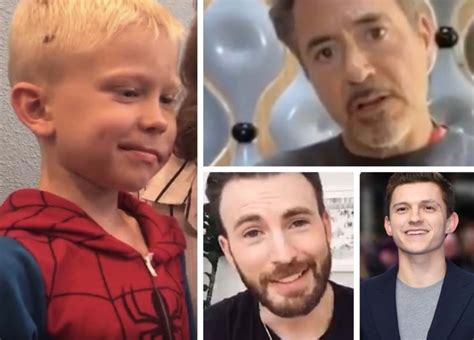 Robert Downey Jr. and Tom Holland promised the hero boy ...