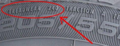 Treadwear Grade Of Your Car Tires