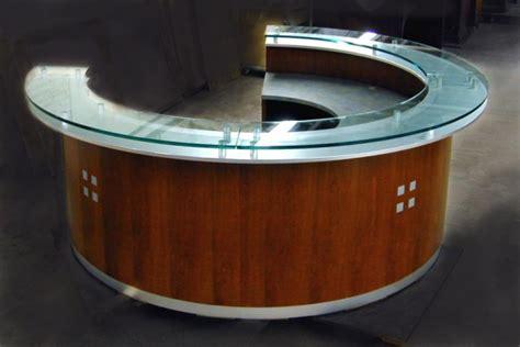 circular reception desk lobby arnold reception desks inc lobby desk harford