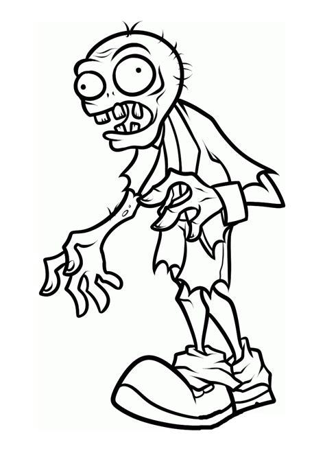 zombies  coloriage de zombies coloriages pour enfants