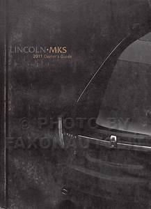 2011 Lincoln Mks Wiring Diagram Manual Original