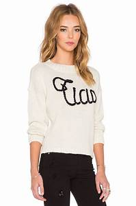 Lyst - Wildfox Ciao Bella Sweatshirt in White