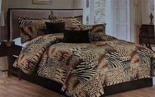 7pc multi animal print microfur comforter set twin queen king cal king size ebay