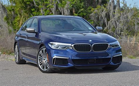 Bmw M550i Review by 2018 Bmw M550i Xdrive Review Test Drive