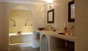 la salle de bains en beton cire With salle de bain a la chaux