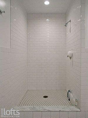 rectangle tile shower stall designs  open shower