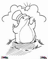 Groundhog Coloring Pages Ratings Yet sketch template