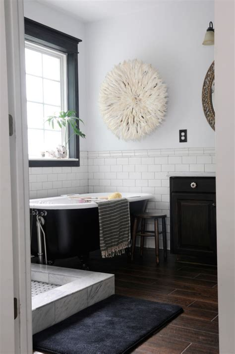classic black and white bathroom how to master the black bathroom trend pivotech