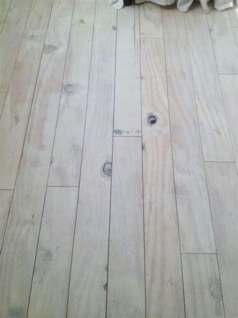 plywood floors whitewashed  ascp  sealed