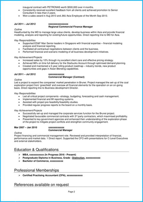 How To Write A Professional Cv Sles by Professional Cv Template With 7 Exle Cvs For Inspiration