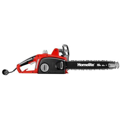 homelite    amp electric chainsaw utb