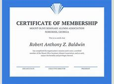 Customize 64+ Membership Certificate templates online Canva
