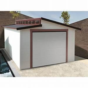 Garage Bois Pas Cher : garage torino 20 91m avec porte sectionnelle motoris e ~ Dailycaller-alerts.com Idées de Décoration