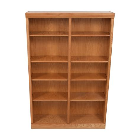 Second Bookcase by 74 Wood Bookcase Storage