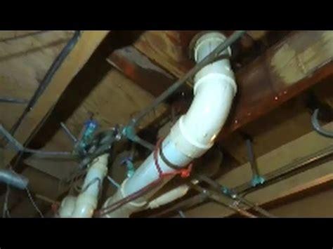 water leak bathroom floor water leaking through floor when toilet is flushed 24565