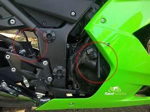 08 Ninja 250r  Wires Go
