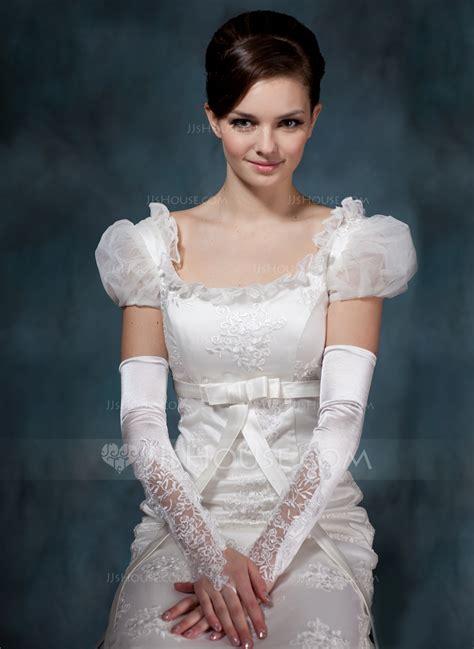 flower belts sashes for elastic satin opera length bridal gloves 014020514