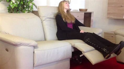 leder sofa elektrisch verstellbar sitz rechts relax