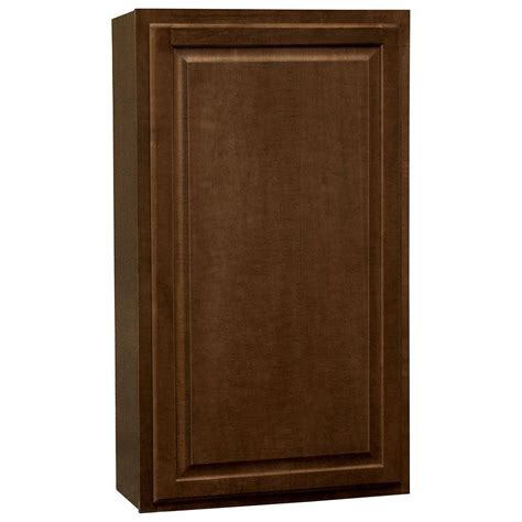 home depot cognac cabinets hton bay hton assembled 24x42x12 in wall kitchen