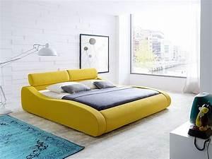 Schlafzimmer Komplett 140x200 Bett : polsterbett artura bett 140x200cm safrangelb matratze lattenrost wohnbereiche schlafzimmer ~ Bigdaddyawards.com Haus und Dekorationen