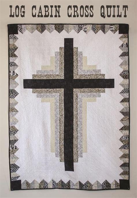 log cabin cross quilt craftsy