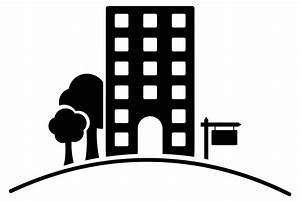 Extraordinary Black And White Apartment Building Clip Art ...
