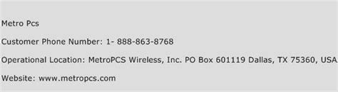 phone number for metro pcs metro pcs customer service phone number contact number