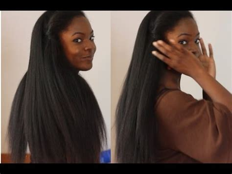 Sew In Weave Hair that Looks Like Real Natural Hair!   YouTube