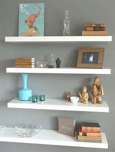With the advantages and ideas of hanging wall shelves