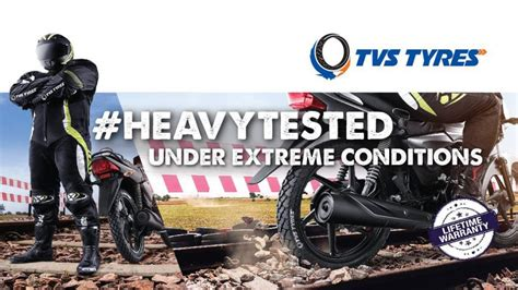 Rediffusion's launches #Heavytested campaign for TVS Tyres ...