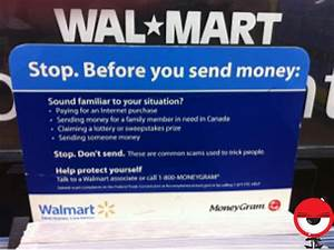 Walmart Lists  U201csending Someone Money U201d As A Reason You