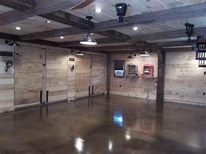 Interior picture of our 2439 x 3239 garage in glen mills pa for Pole barn garage interior ideas