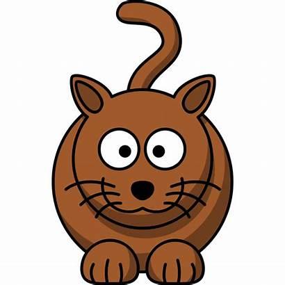 Cat Cartoon Clipart Funny Clip Fat Platypus