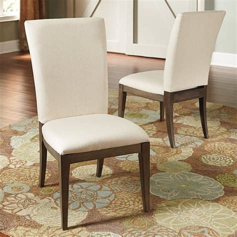 american drew park studio upholstered fabric side chair in
