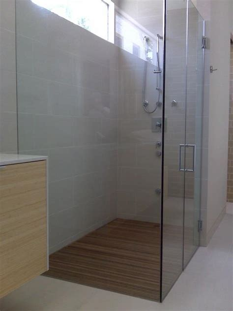Teak 'Grates' for Shower Floor?   Ceramic Tile Advice