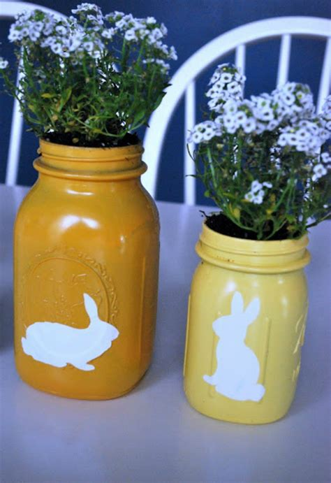 diy easter mason jars crafts    spring