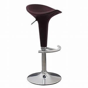 Tabouret De Bar En Cuir : tabouret de bar en simili cuir avec pied m tal achat ~ Dailycaller-alerts.com Idées de Décoration
