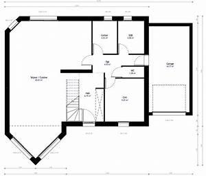 Plan Maison A Etage : plan maison individuelle 3 chambres 16b habitat concept ~ Melissatoandfro.com Idées de Décoration
