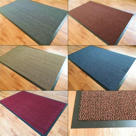 small doormat large small kitchen heavy duty barrier mat non slip rubber